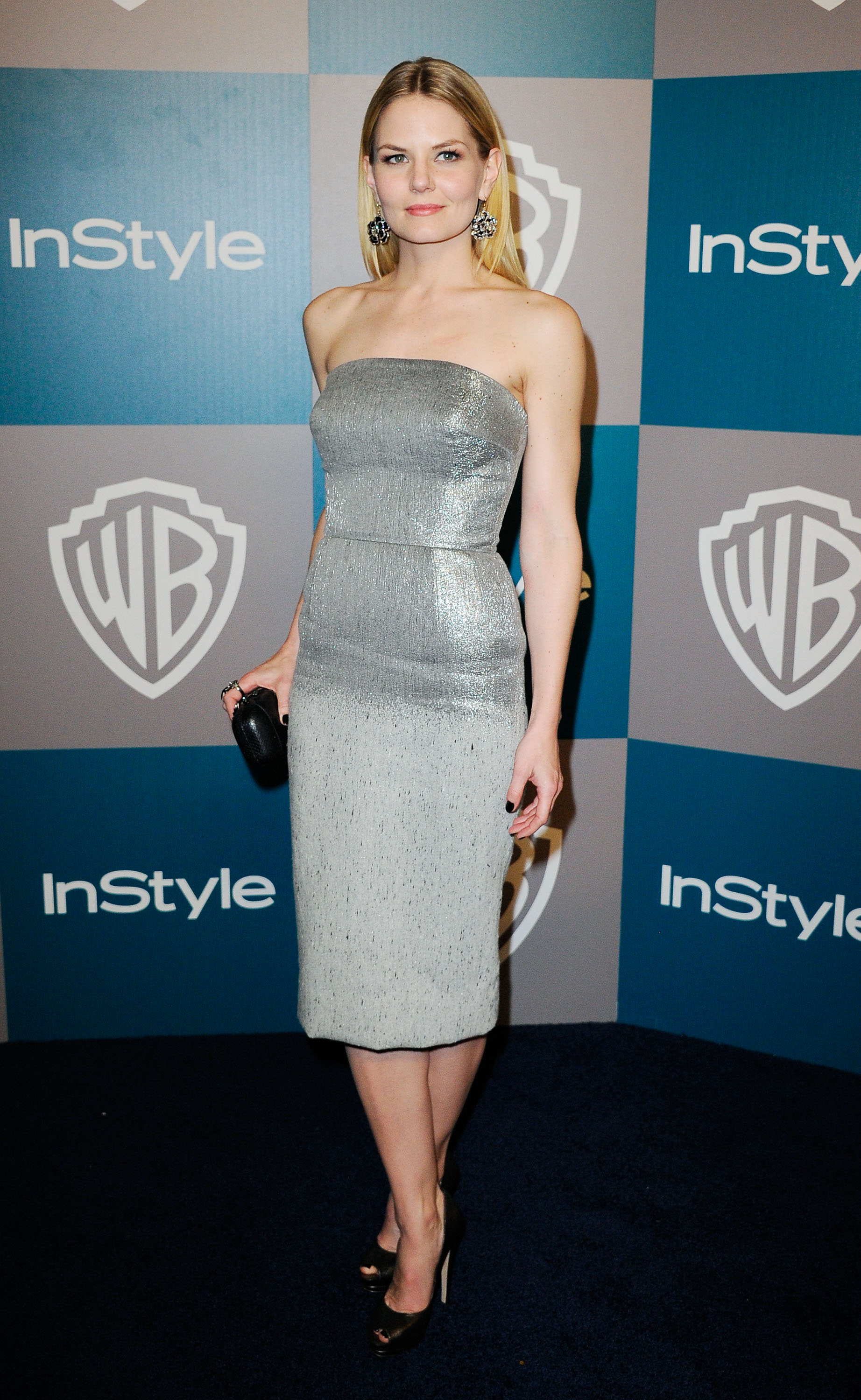 Jennifer Morrison Wore a Gray