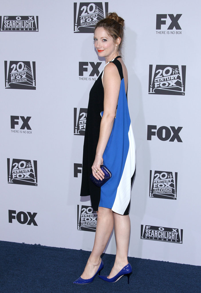 Judy Greer attended the Fox bash.
