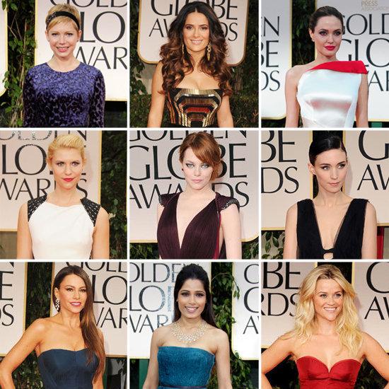 Golden Globes Fashion Roundup