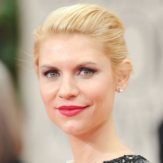 Claire Danes' 2012 Golden Globes Hair and Makeup Look