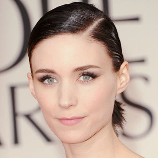Rooney Mara's 2012 Golden Globes Hair and Makeup Look