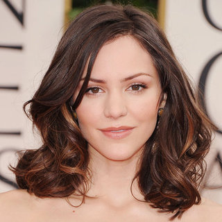 Katharine McPhee's 2012 Golden Globes Hair and Makeup Look
