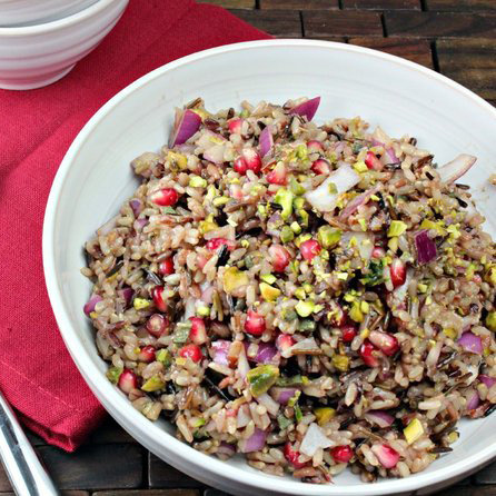 Pomegranate Wild Rice Pilaf Recipe