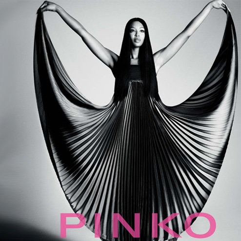 Naomi Campbell Models for Pinko