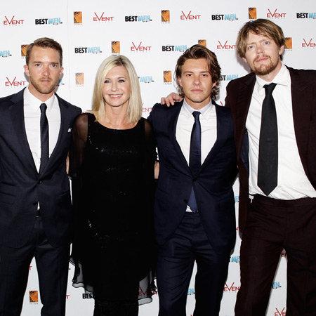A Few Best Men Sydney Premiere Pictures: Olivia Newton-John, Xavier Samuel, Elizabeth Debicki, Sophie Lowe