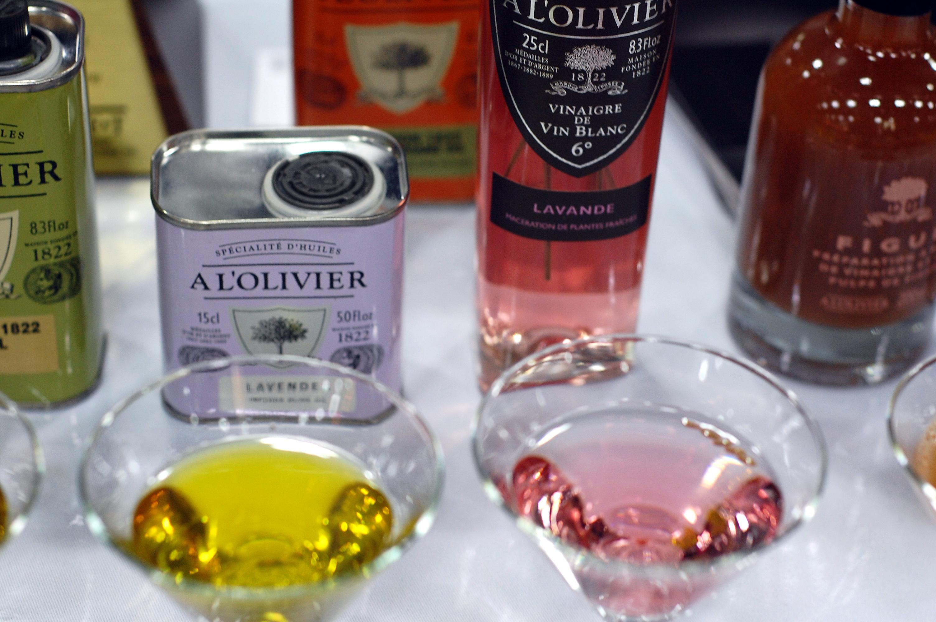 A L'Olivier Lavender Olive Oil and Vinegar