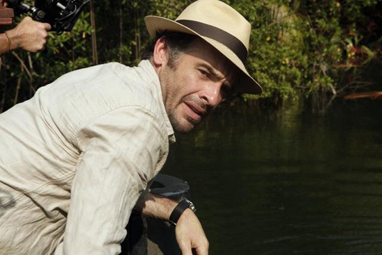 Paul Blackthorne in The River.