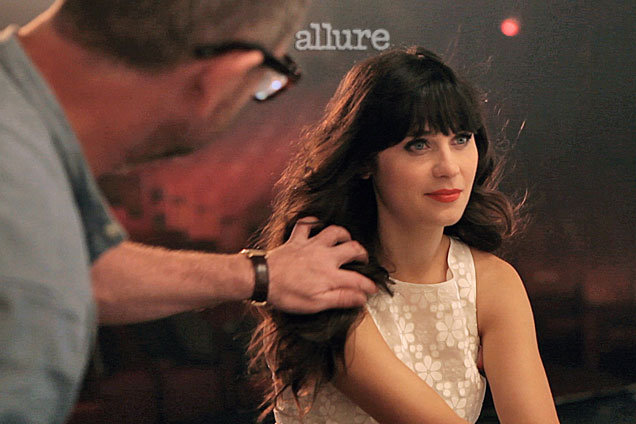 Zooey Deschanel Talks Bangs and Being an It Girl in Allure