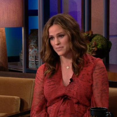 Jennifer Garner Talks About Baby Names on Jay Leno (Video)