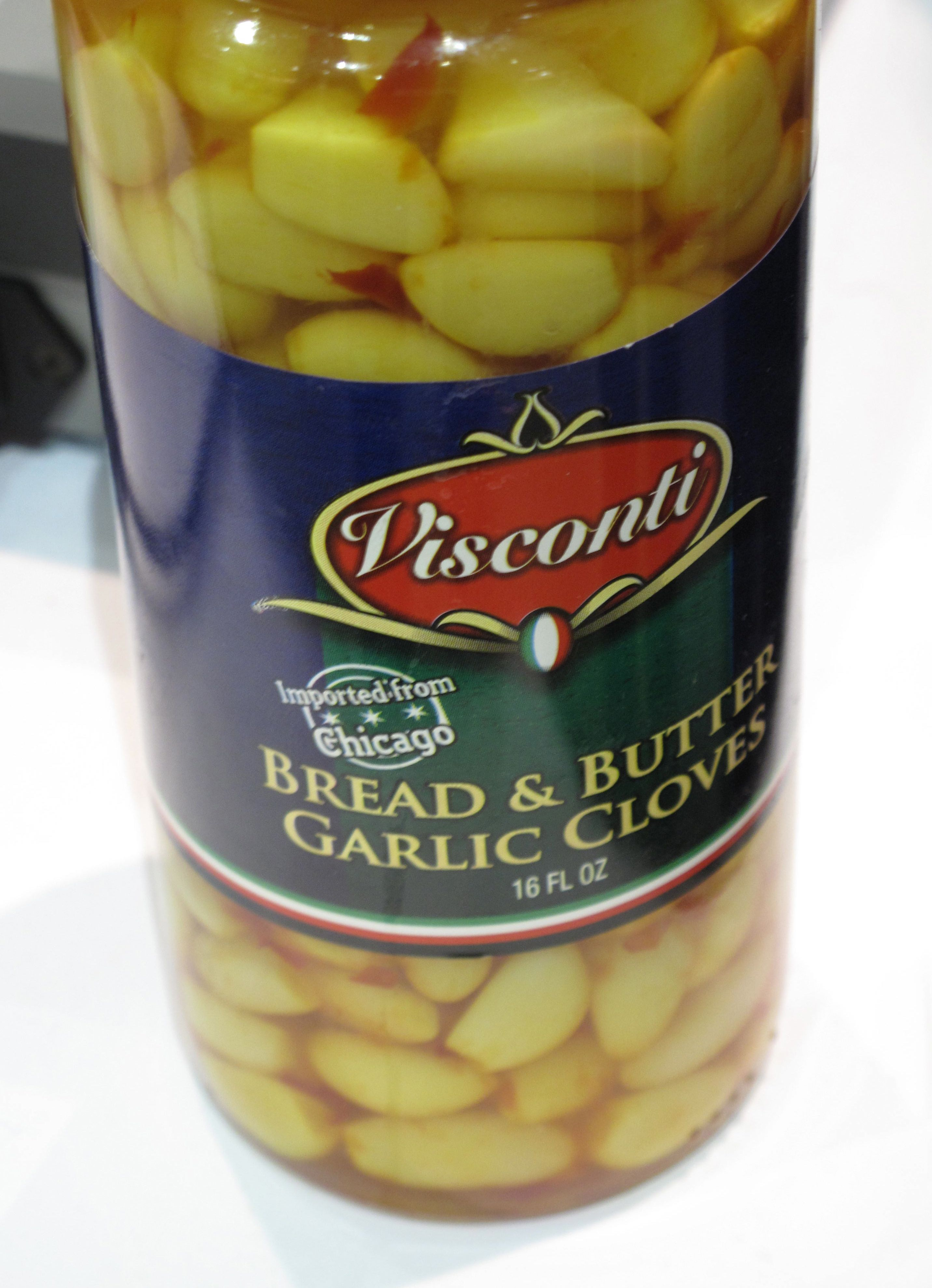 Bread and Butter Garlic