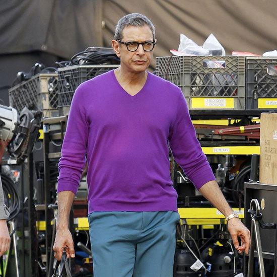 Jeff Goldblum on Glee With Lea Michele and Cory Monteith