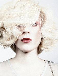 Chloë Sevigny Wears Brick Red Lipstick in Interview Magazine