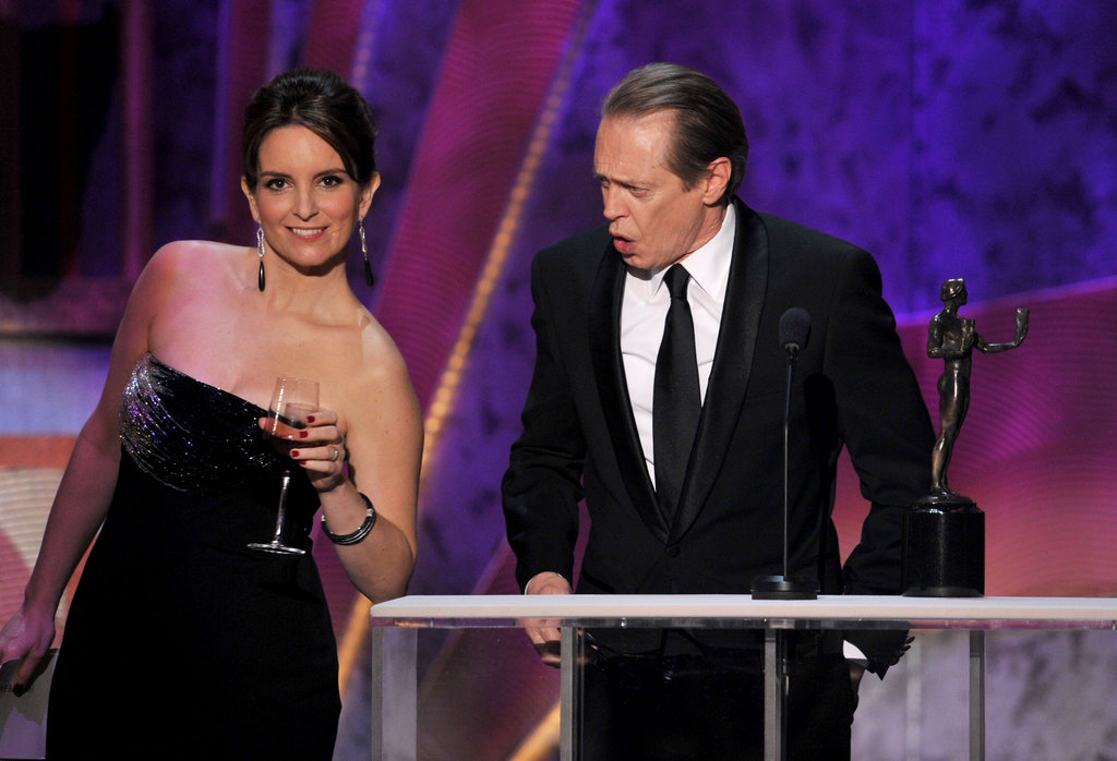 Tina Fey and Steve Buscemi