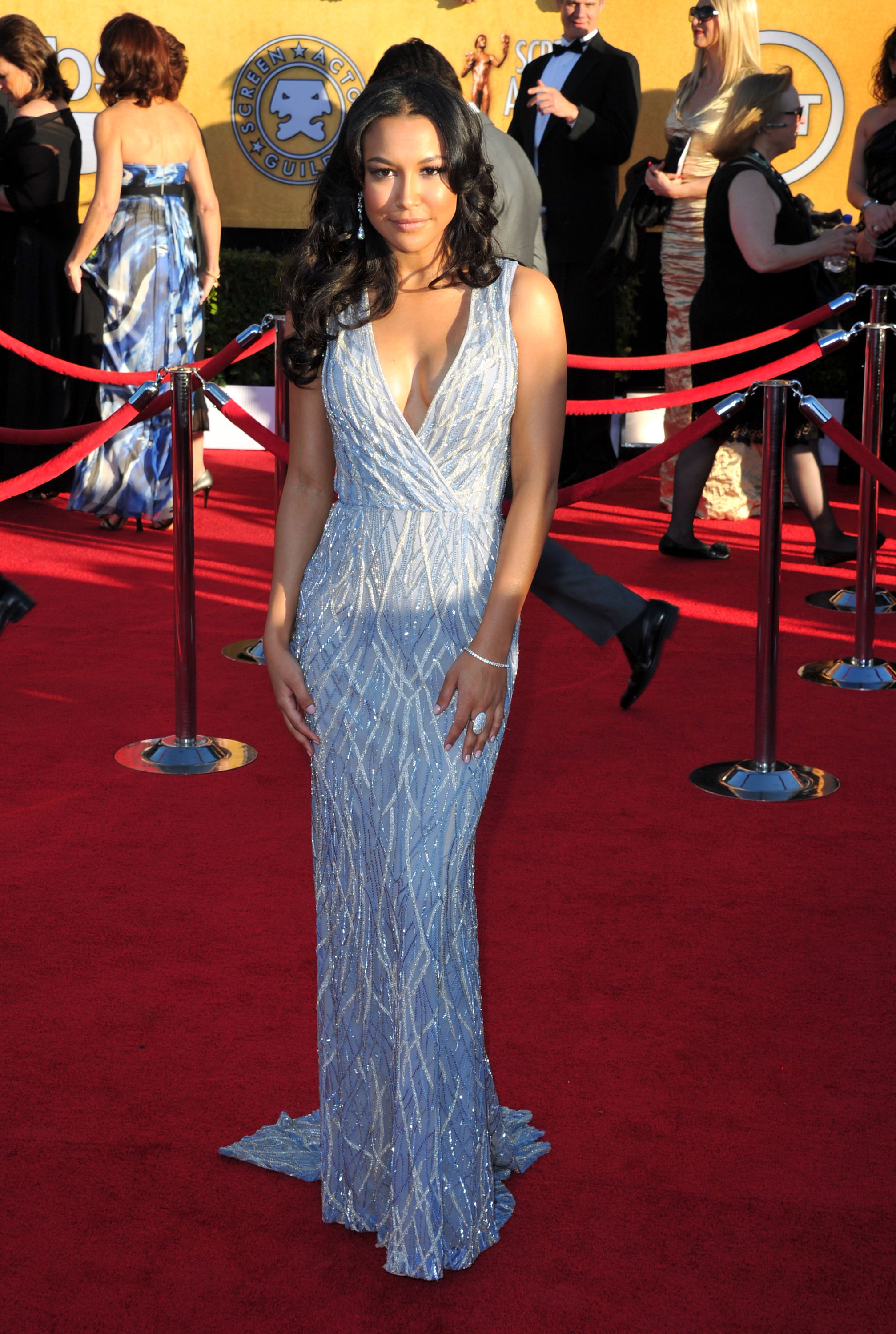 Naya Rivera at the SAG Awards