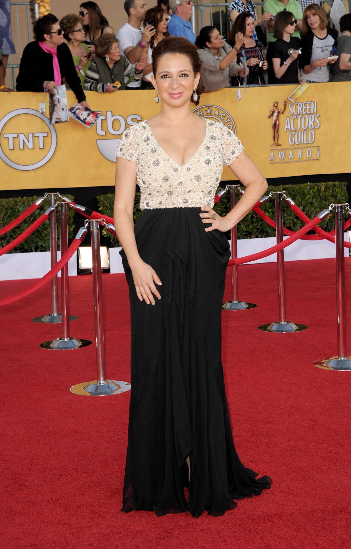 Maya Rudolph at the SAG Awards