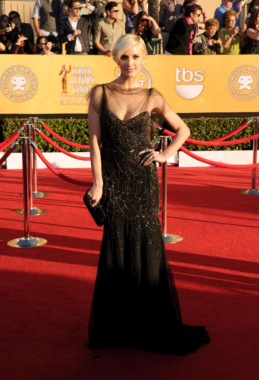 Ashlee Simpson at the SAG Awards