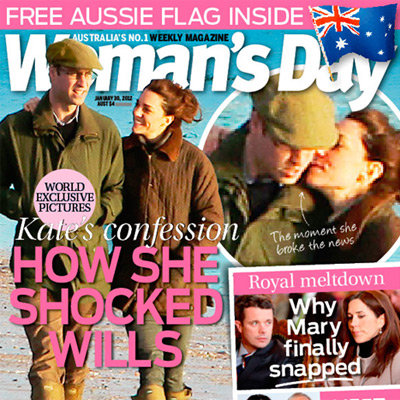 Australian Weekly Magazine Round Up With Who, New Idea, NW, Woman's Day