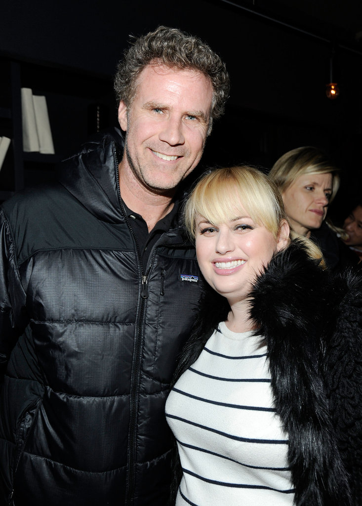 Will Ferrell and Rebel Wilson