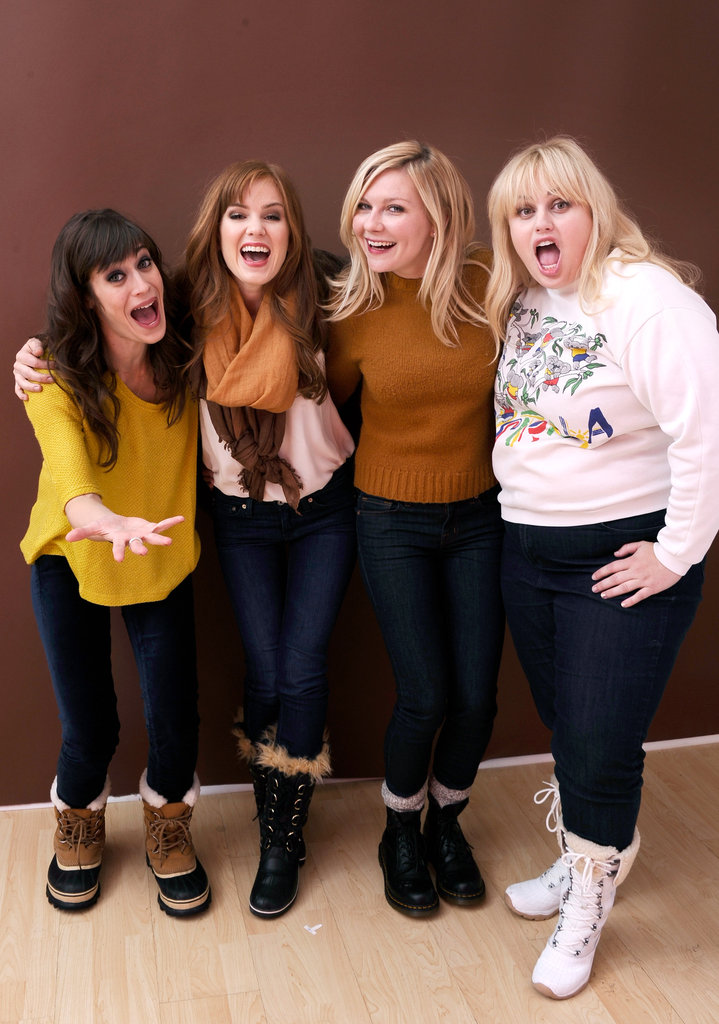 Lizzy Caplan, Isla Fisher, Kirsten Dunst and Rebel Wilson