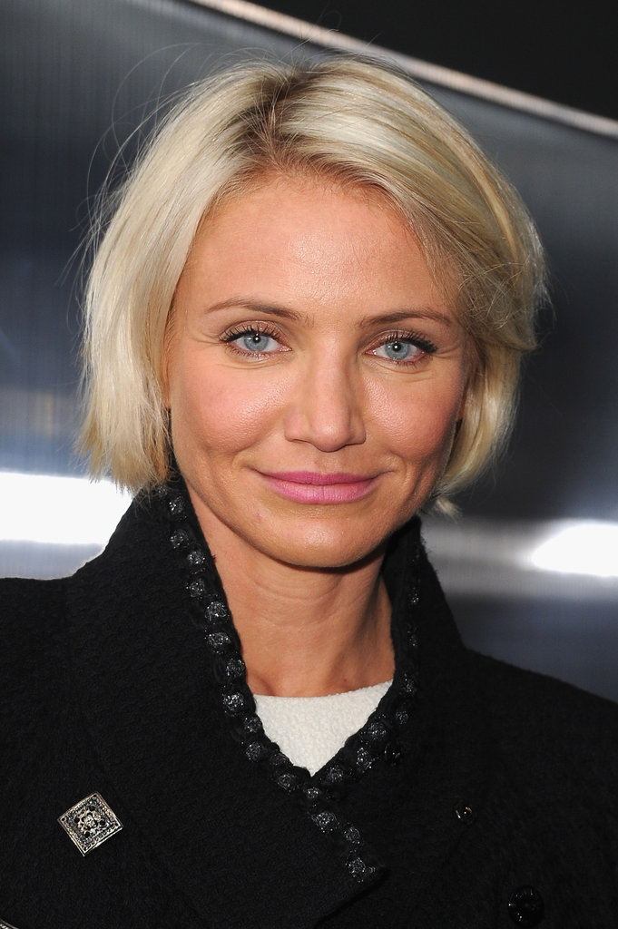 Cameron Diaz was in Paris for Couture Fashion Week.