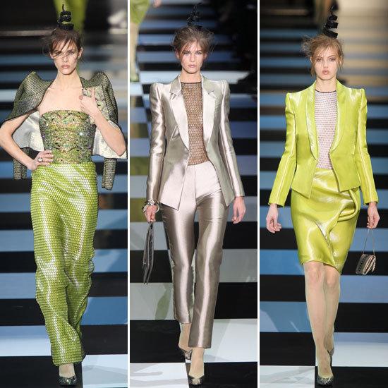 Armani Prive Couture Spring 2012