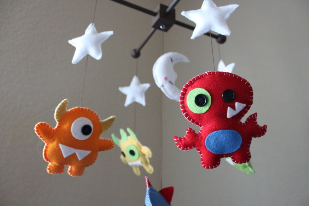 Baby Monsters Mobile