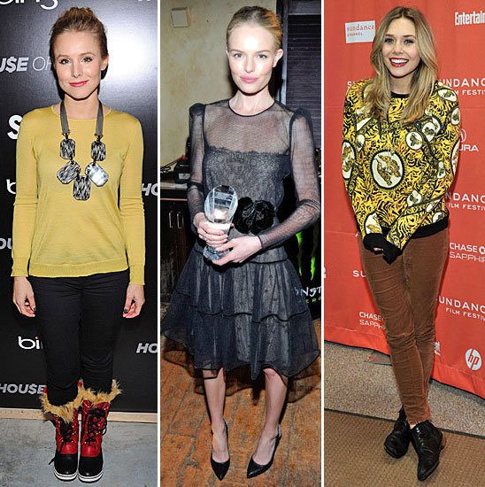 Fashionable Celebrities Hit the Red Carpet at the 2012 Sundance Film Festival