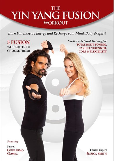 Want to try more? Be sure to check out the Yin Yang Fusion Workout DVD for five, 15-minute equipment-free routines you can do to help keep your health (and fitness routine) in harmony. For more info, please visit: www.yinyangworkout.com. Watch a preview here.