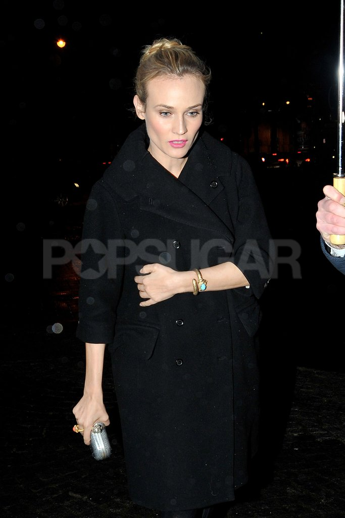 Diane Kruger headed out to an afterparty.