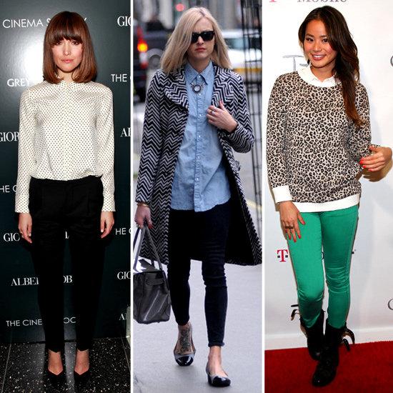 Celebrities Wearing Oxford Collars 2012