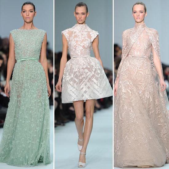 Couture Fashion Week: Elie Saab