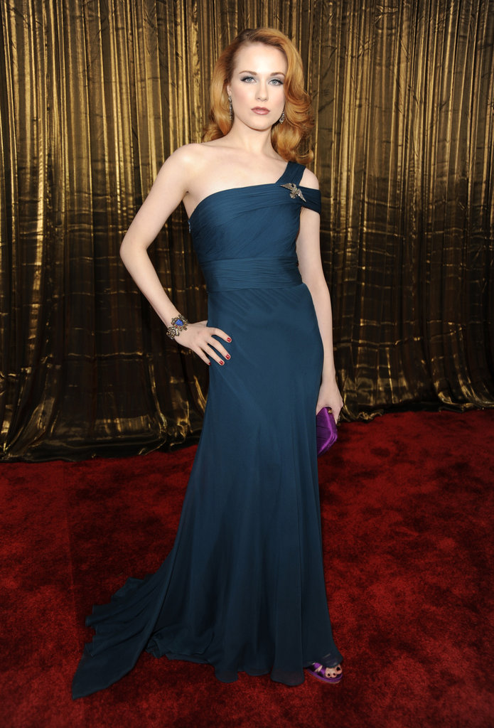 Evan Rachel Wood at the 2009 SAG Awards