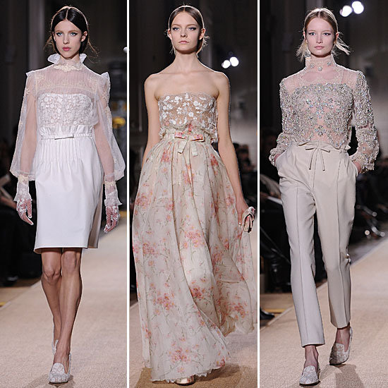 Review and Pictures of the Valentino Runway Show at 2012 Paris Haute Couture Fashion Week