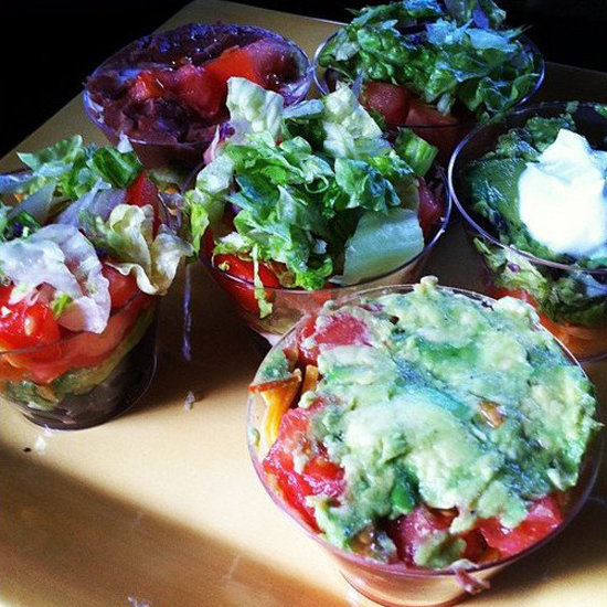Healthy Layered Dip Recipe For the Super Bowl