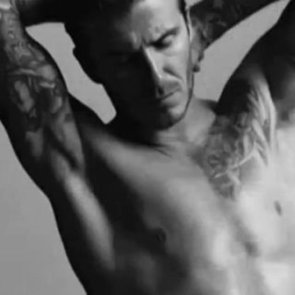 David Beckham Shirtless Video in H&M Super Bowl Commercial