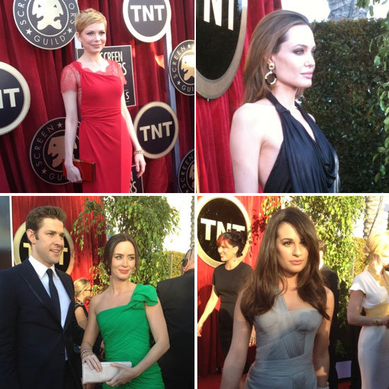 Celebrity Twitter Red Carpet Pictures From the 2012 SAG Awards Kelly Osbourne, Guiliana Rancic,  & More!