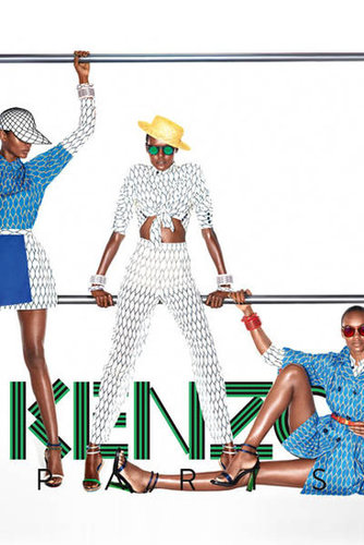 Kenzo Spring 2012 Ad Campaign
