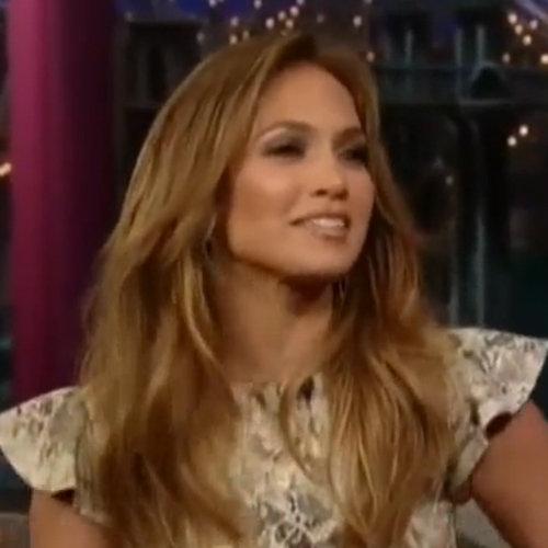 Jennifer Lopez Talks Marriage Divorce on Letterman (Video)