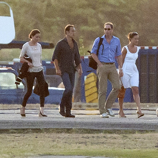 Kate Middleton Pictures on Mustique Vacation With William