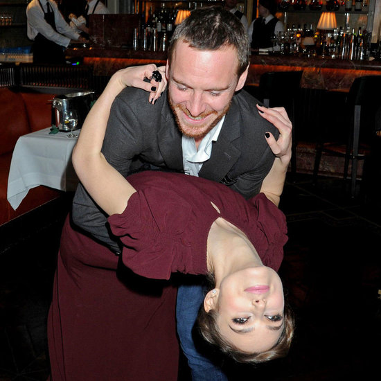 Michael Fassbender Hilarious Afterparty Pictures