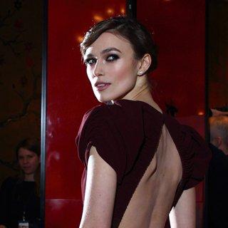 Keira Knightley Wears Burberry in London