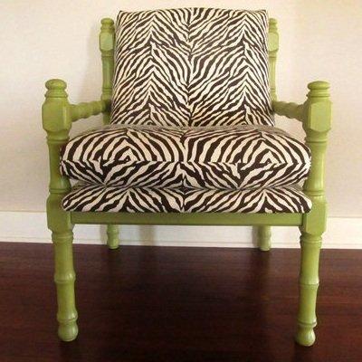Chair Reupholstery DIY