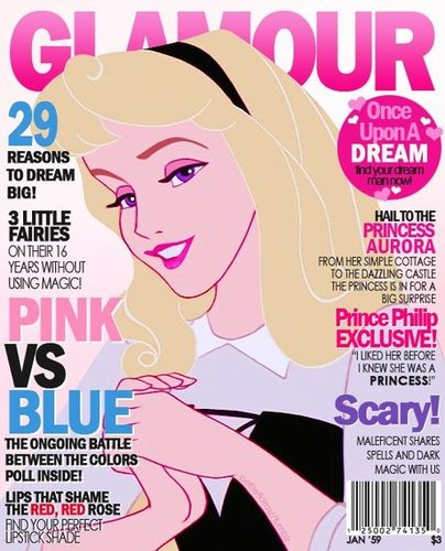 Magazine Cover Aurora