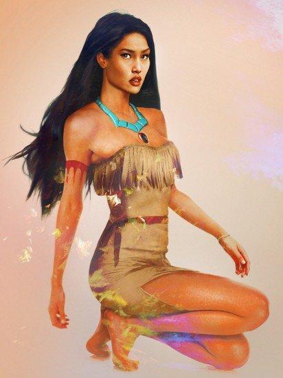 """Real Life"" Pocahontas"