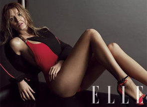 Blake Lively Doesn't Have a Stylist, But Ask Christian Louboutin for Outfit Advice: See Her Elle US March Cover Shoot