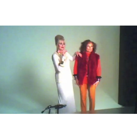 Watch Ab Fab Stars Patsy and Edina Pose Up a Storm for Alexis Bittar's Spring Summer 2012 Campaign