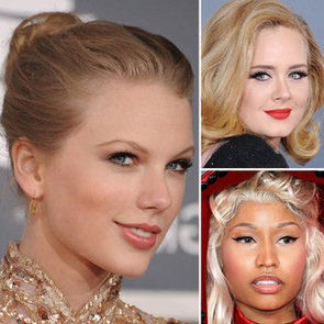 2012 Grammys: All the Makeup Looks Up Close
