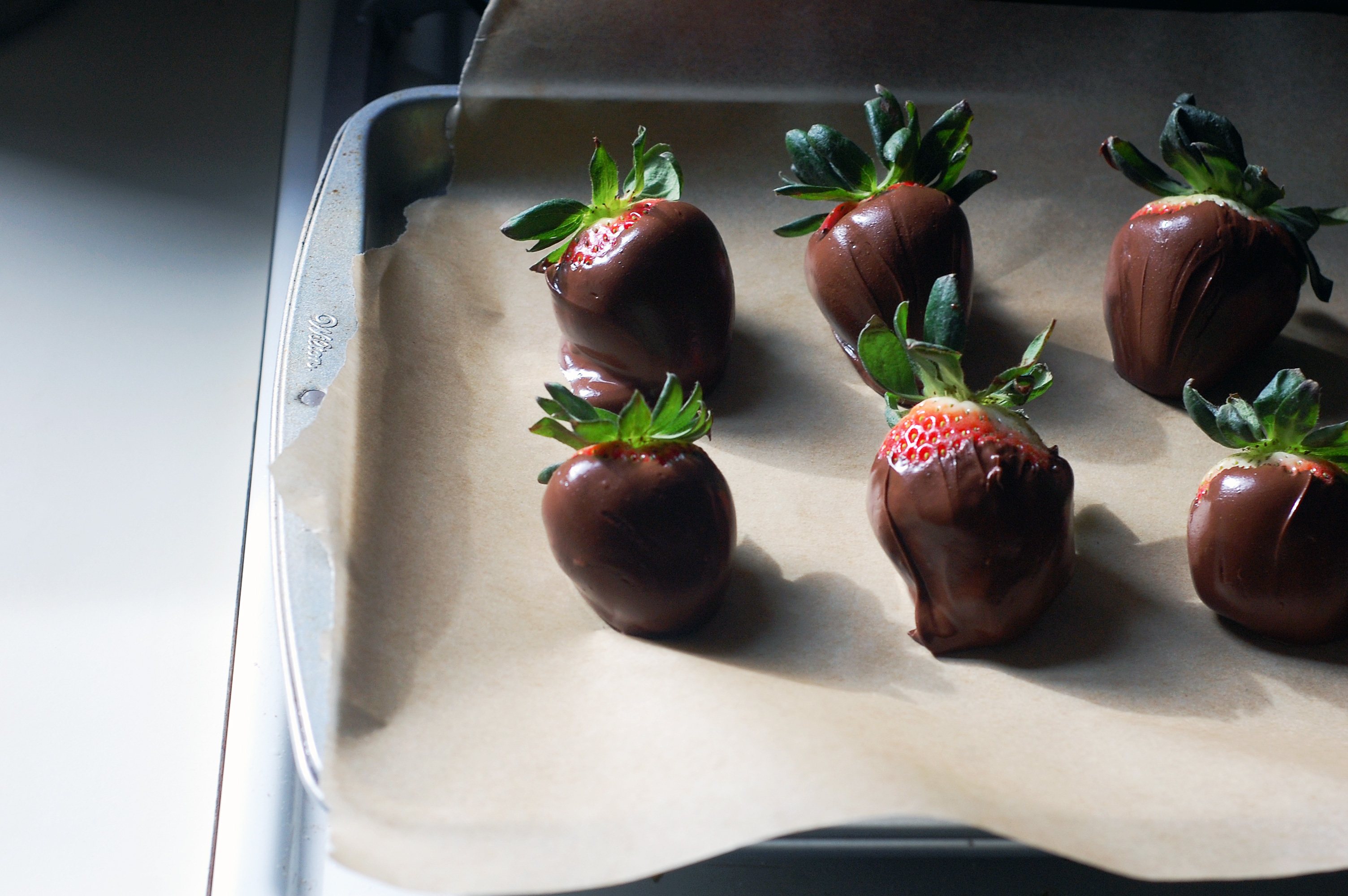 Transfer the Strawberries