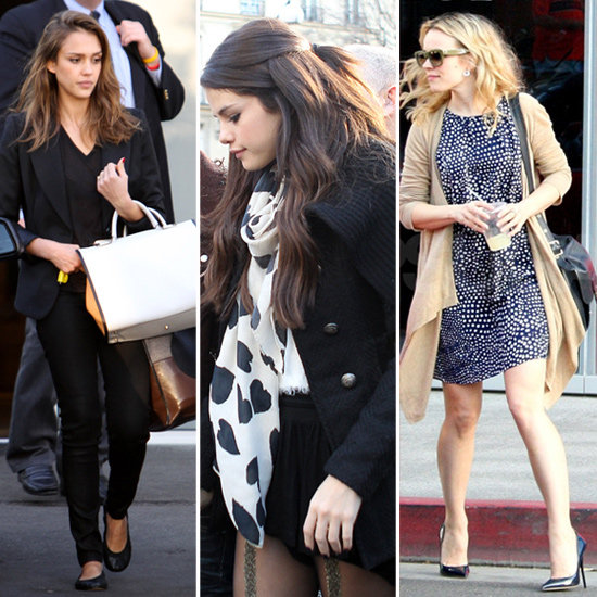 Selena Gomez Heart Scarf