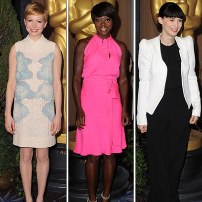 2012 Oscar Nominee Lunch Pictures